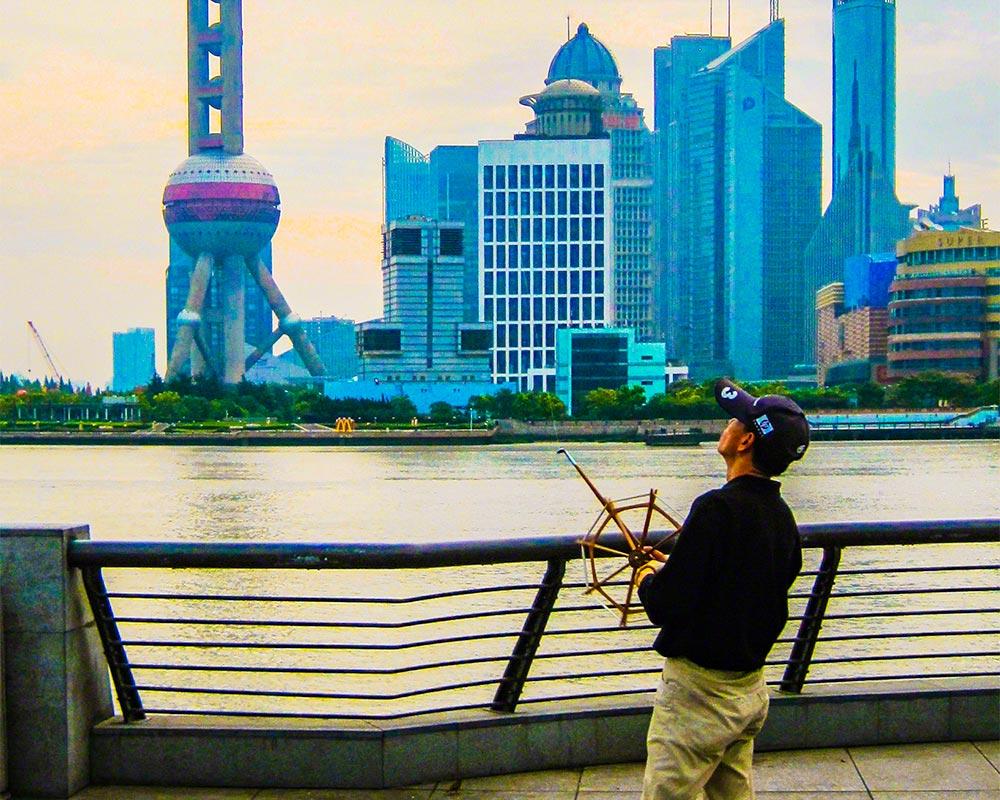 IntentionallyLost.com Shanghai Bund