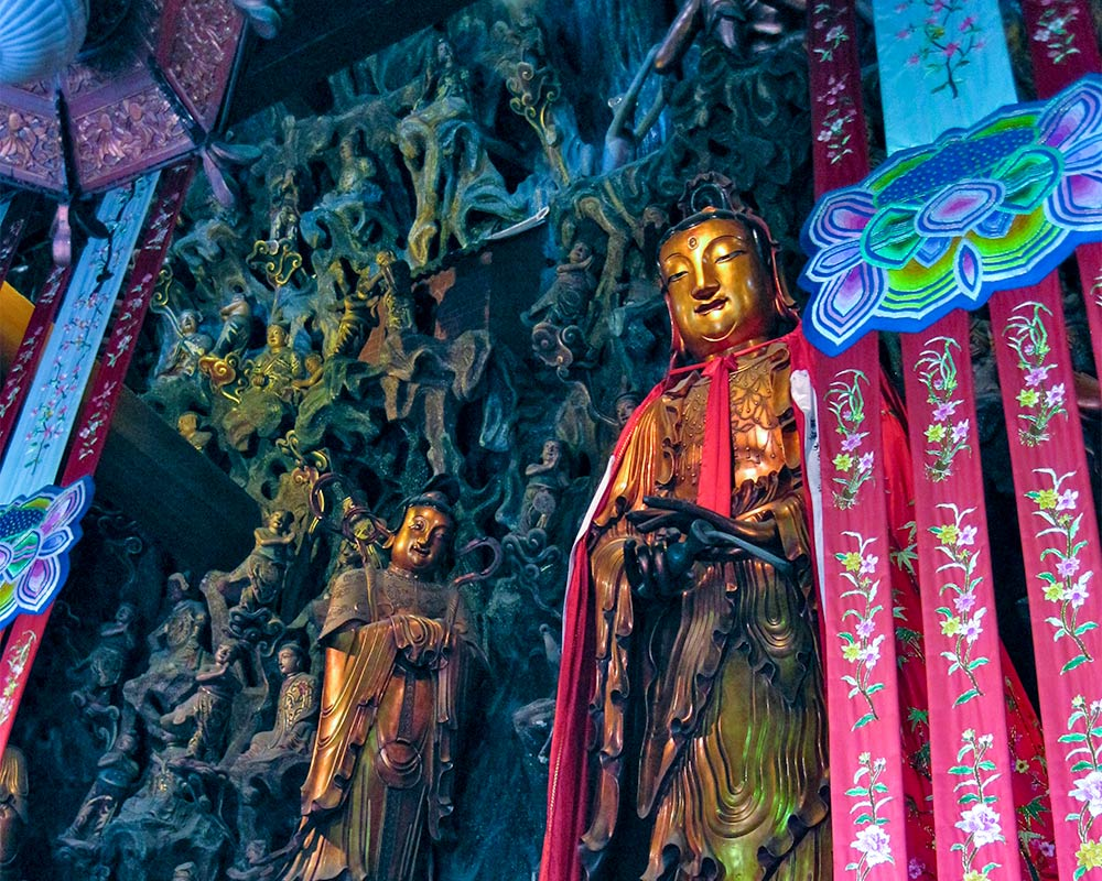 IntentionallyLost.com Jade Temple Shanghai