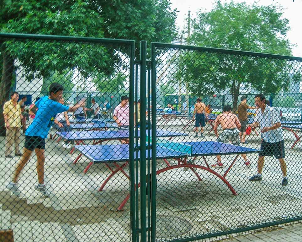 IntentionallyLost.com Beijing Ping Pong Park