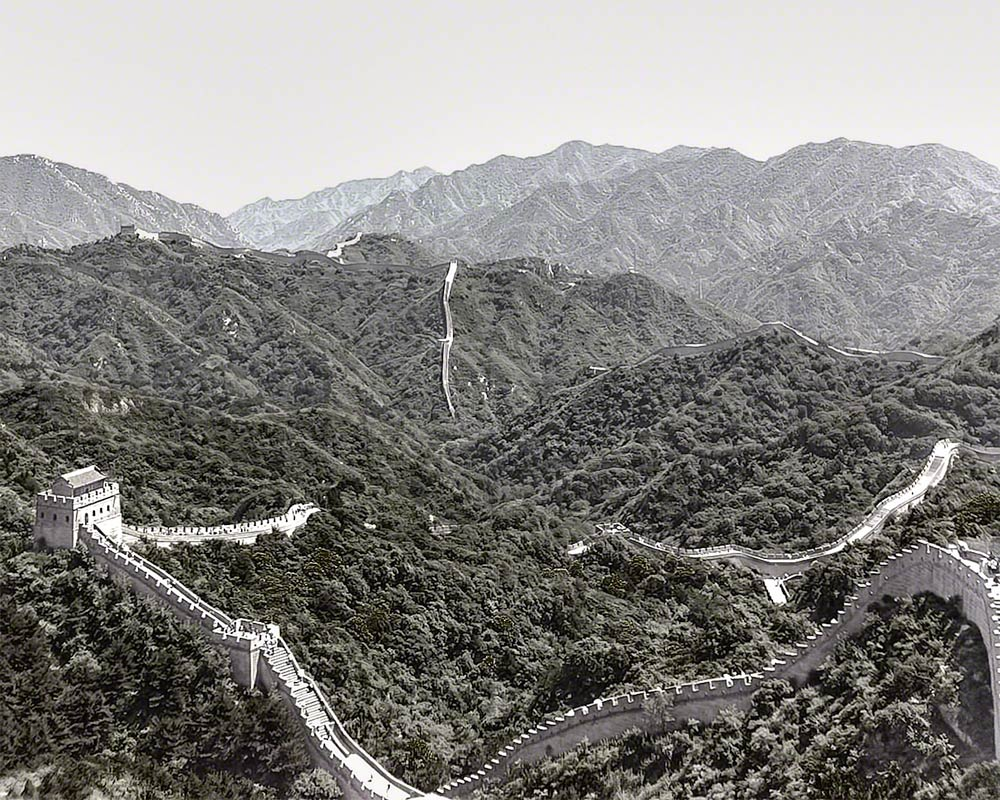 IntentionallyLost.com China's Great Wall