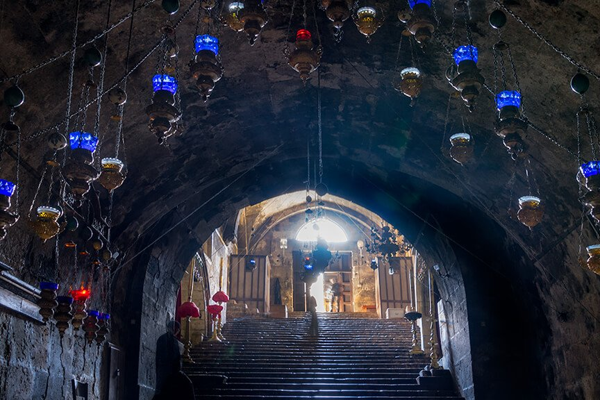 Intentionally Lost Mary's Tomb in Jerusalem