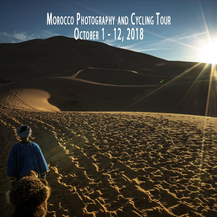 Morocco Photography and Cycling Tour 2018
