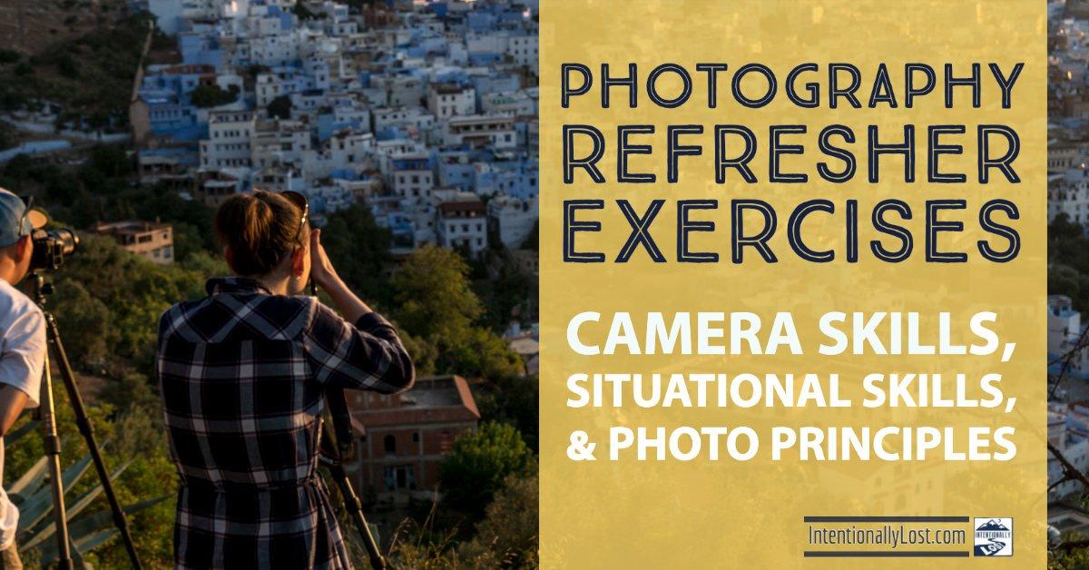 Learn Photography - camera skills, situational skills, photography principles