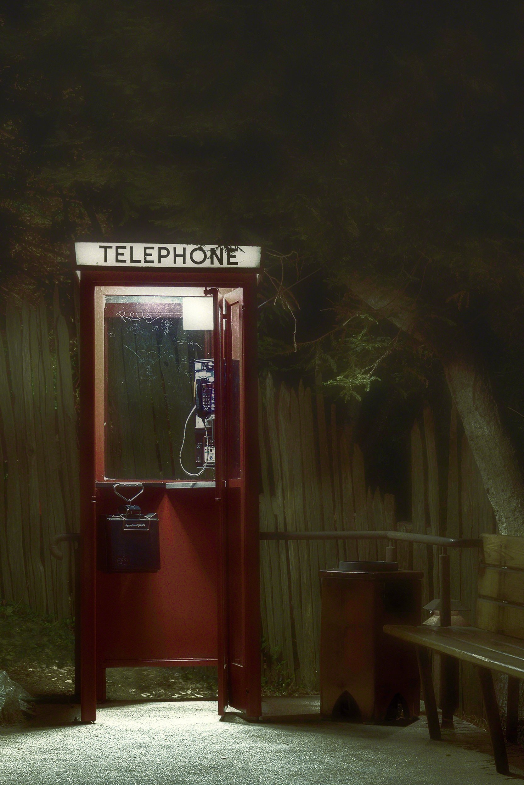 Lost Highway Phone Booth