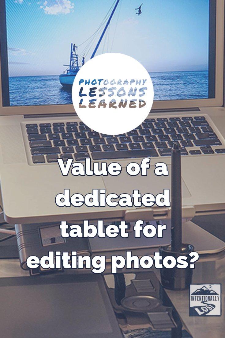 Wacom Tablet for Photo Editing
