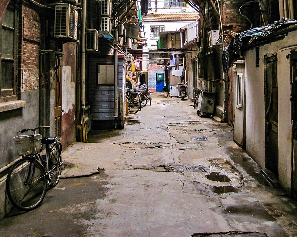 IntentionallyLost.com Shanghai Neighborhoods