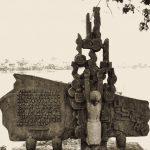 McGan Monument at Truc Bach Lake