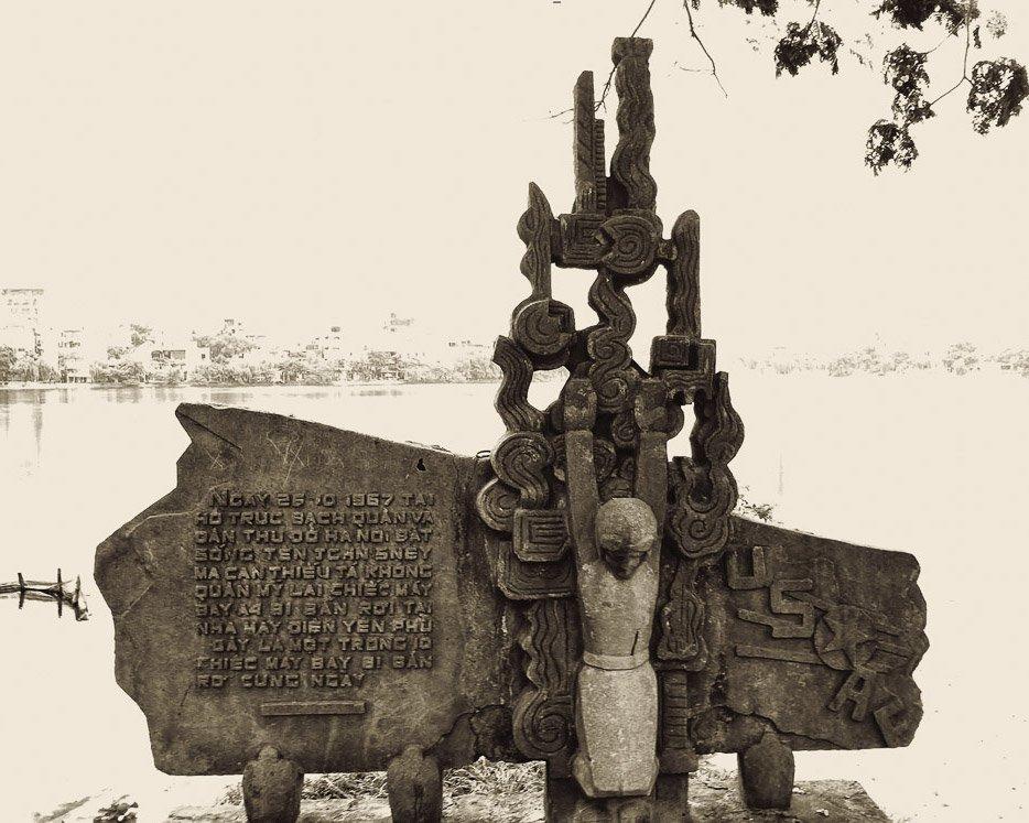 IntentionallyLost.com McGann Monument Hanoi Vietnam