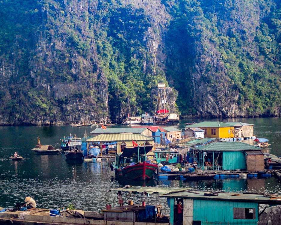 IntentionallyLost.com Ha Long Bay Fishing Village