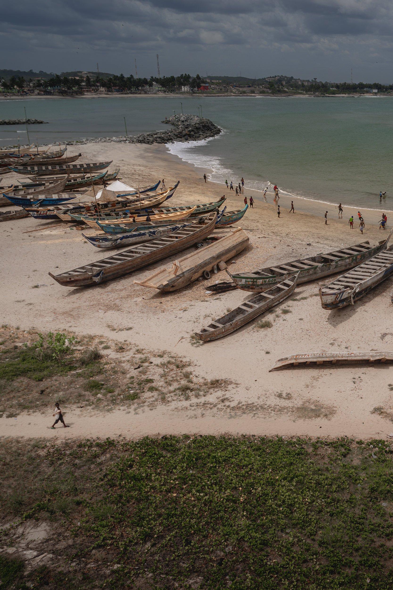 Cape Coast Fishing Boats