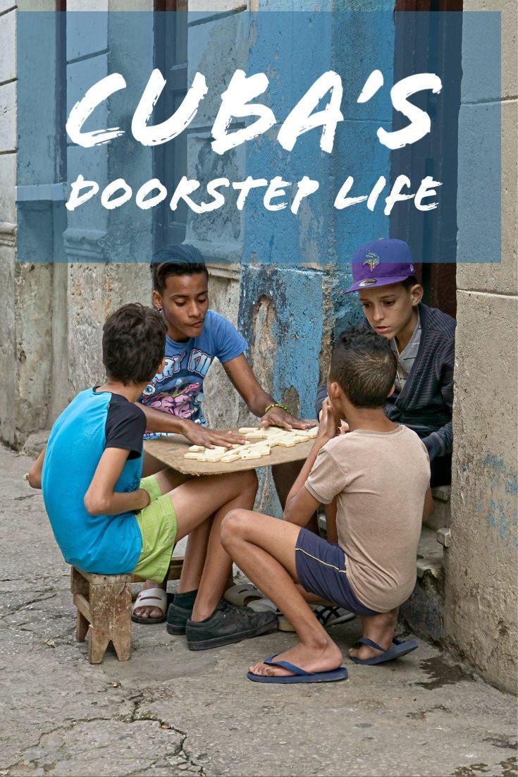 Cuba\'s Doorstep Life