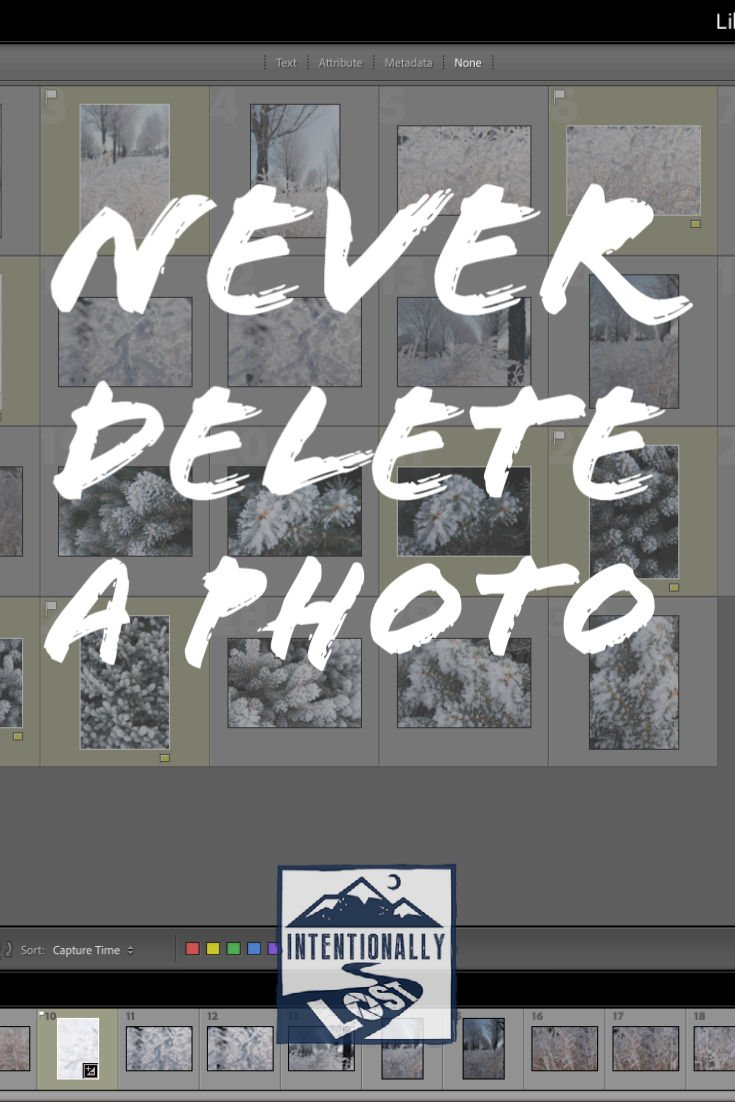 Never Delete a Photo
