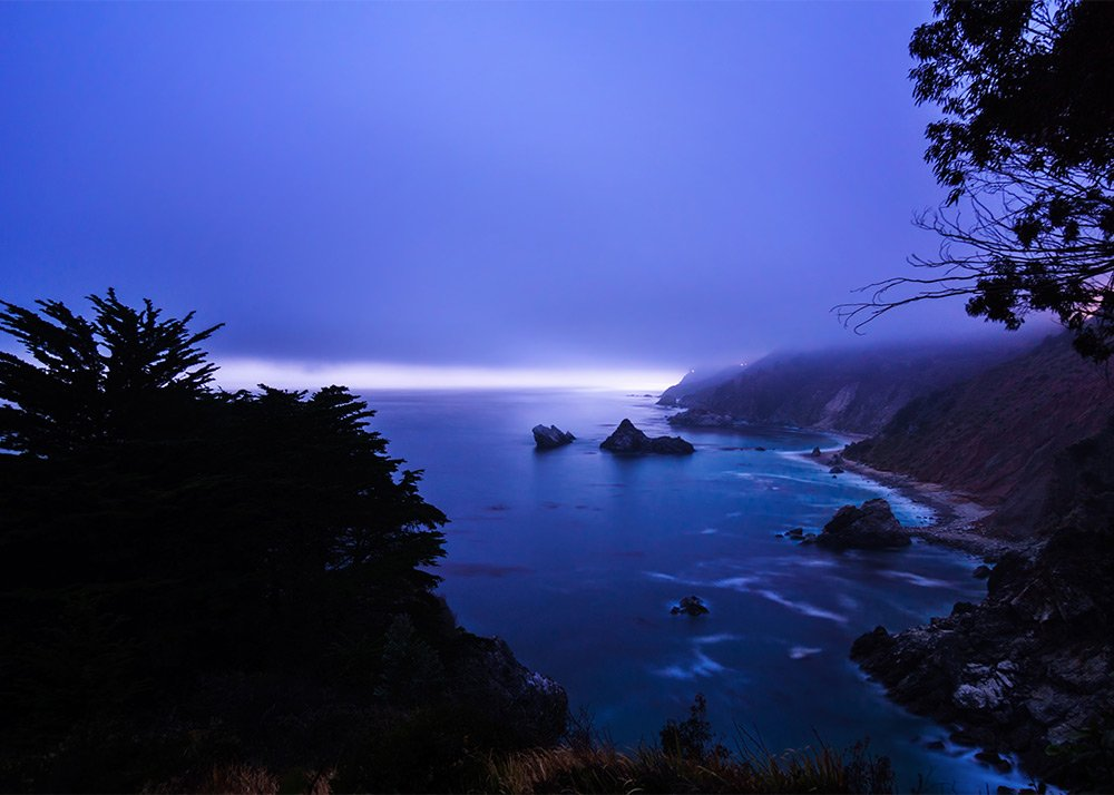 IntentionallyLost.com McWay Falls Coast