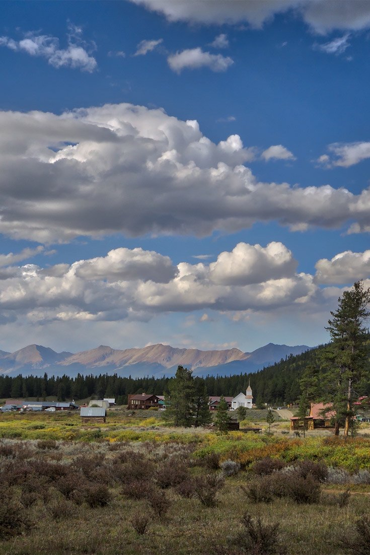 The idyllic mining town of Tincup Colorado is no longer a ghost town.