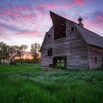 Rural South Dakota Sunset