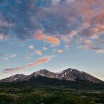 Mount Sopris in Summer