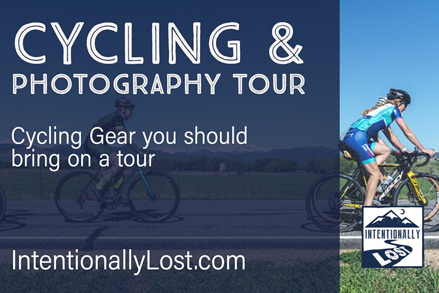 Bike Gear Packing List for a Cycling and Photography Tour
