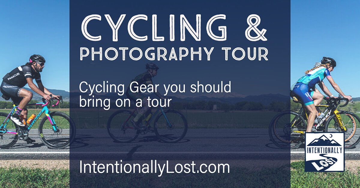 cycling gear to pack for a tour