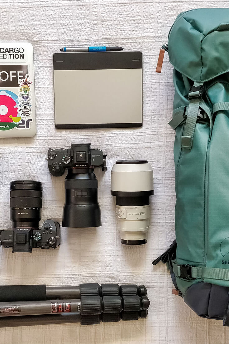 Photography Essentials; what to carry for Short Trips and for Long Trips