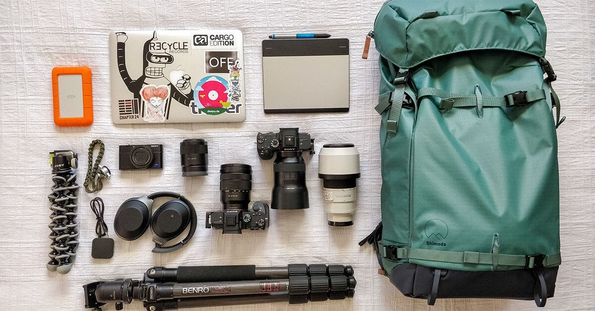Photography Essentials for a long trip