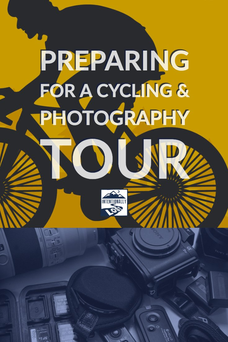 Travel planning resources for your cycling and photography tour. Packing lists for your cycling gear and photography gear plus cycling training plan.