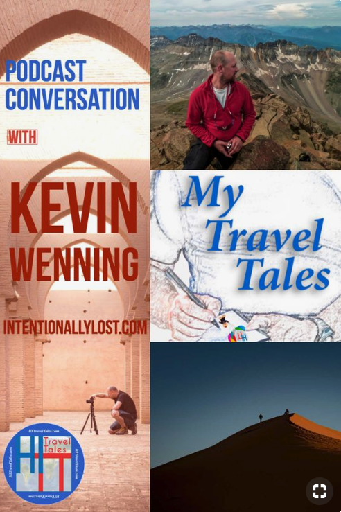 A conversation with Michael Hodgson for My Travel Tales podcast about travel, bike touring and photography, plus five things I always travel with.