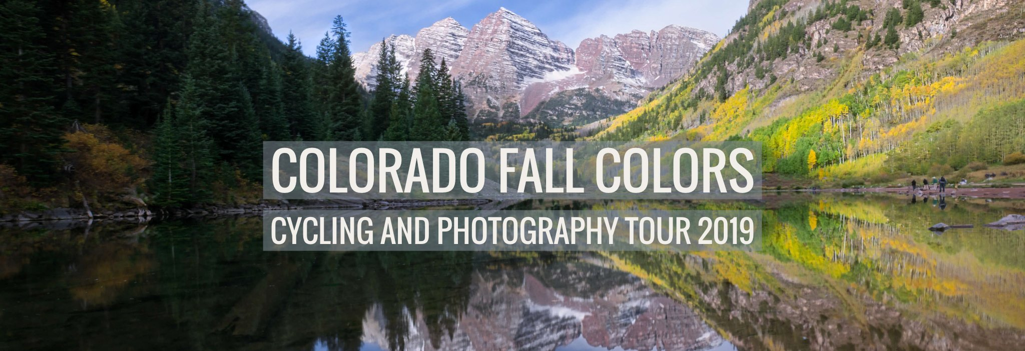 Colorado fall colors cycling tour and photography workshop #intentionallylost