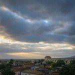 God Rays Over Trinidad Cuba