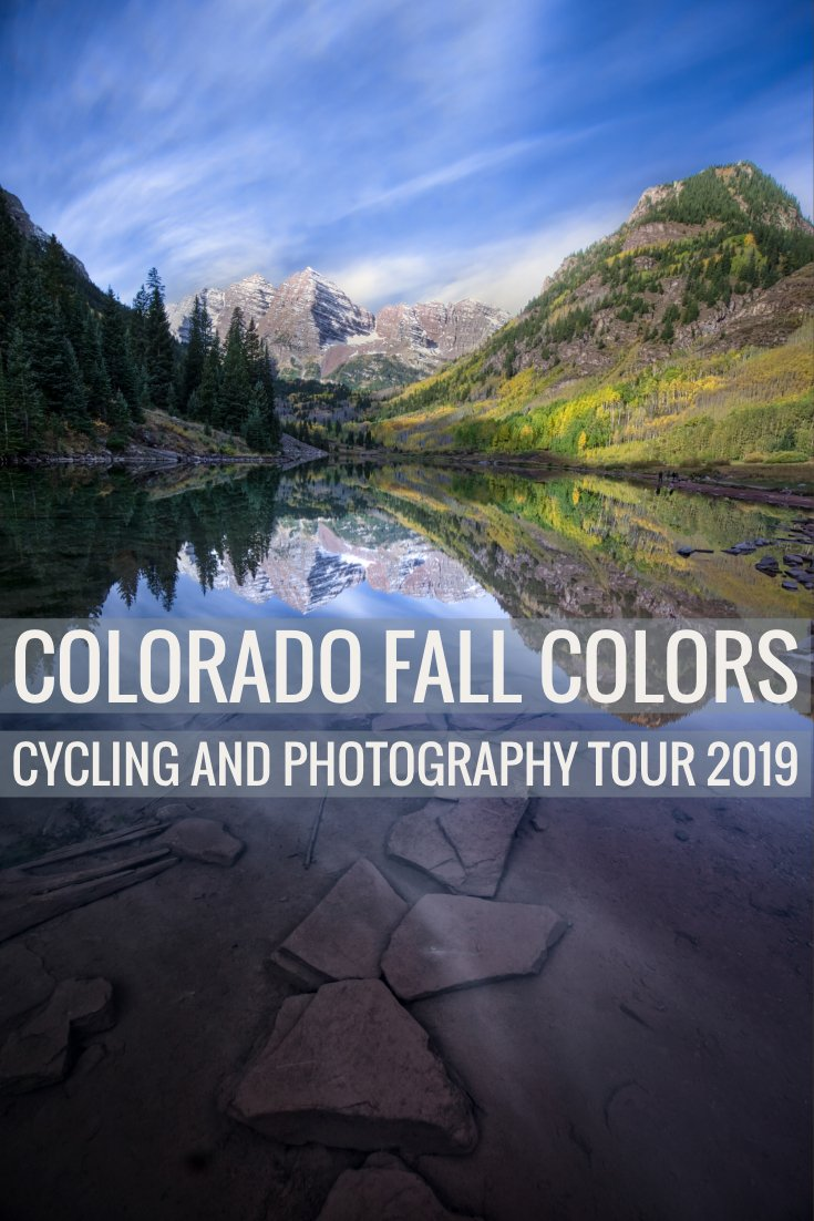 Ride through and photograph stunning landscapes painted with fall aspens on the Colorado Cycling & Photography Tour.