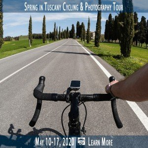 Spring in Tuscany Cycling Vacation and Photography Workshop with Intentionally Lost
