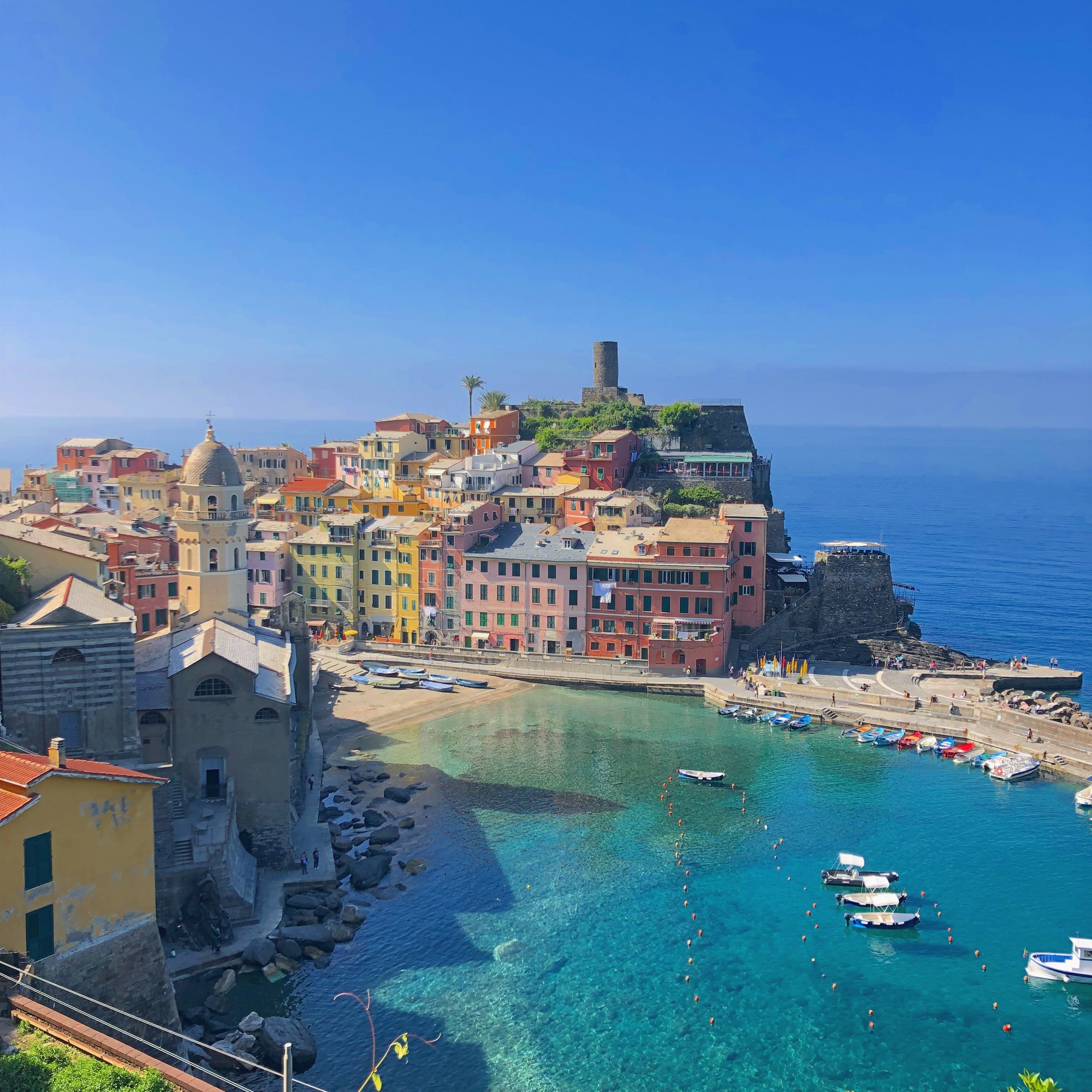 Vernazza Italy on a Cycling and Photography Tour with Kevin Wenning and Intentionally Lost