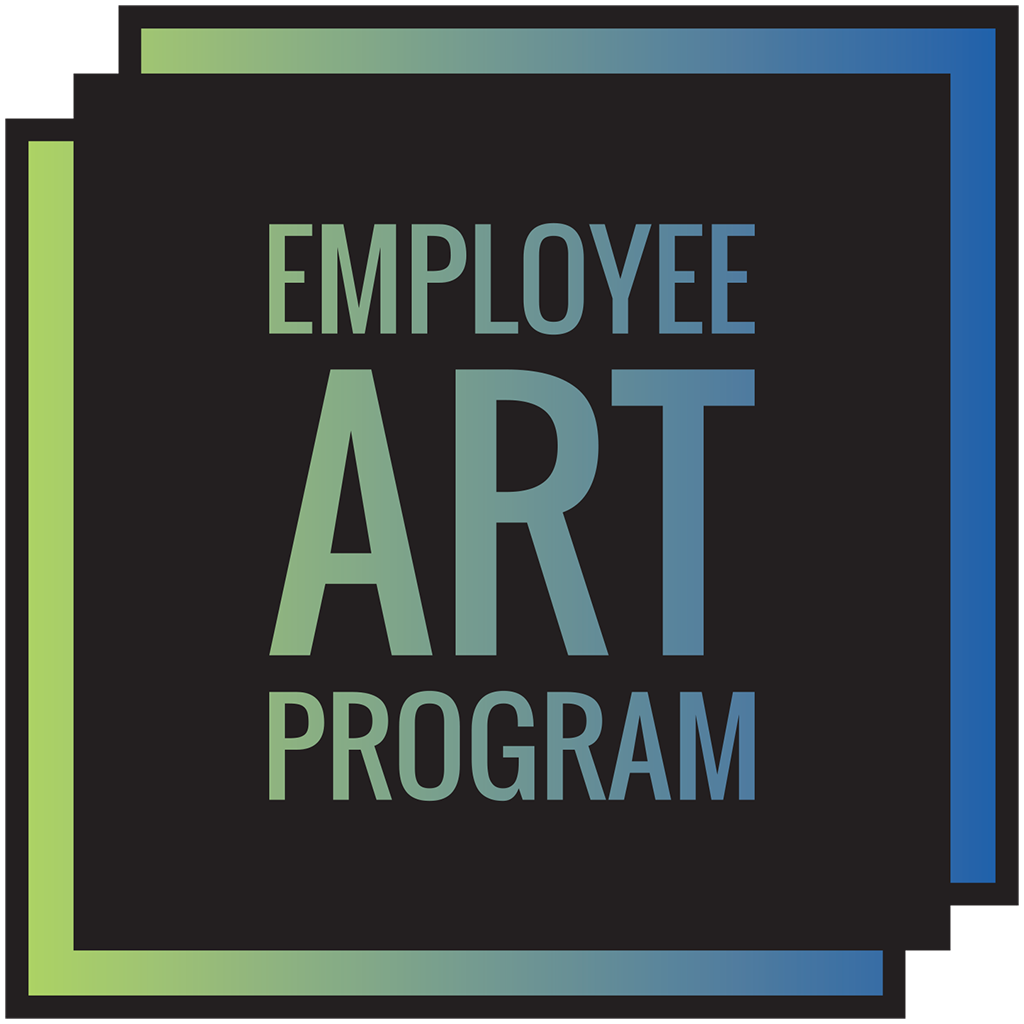 Employee Art Program, personal art for professional workspaces