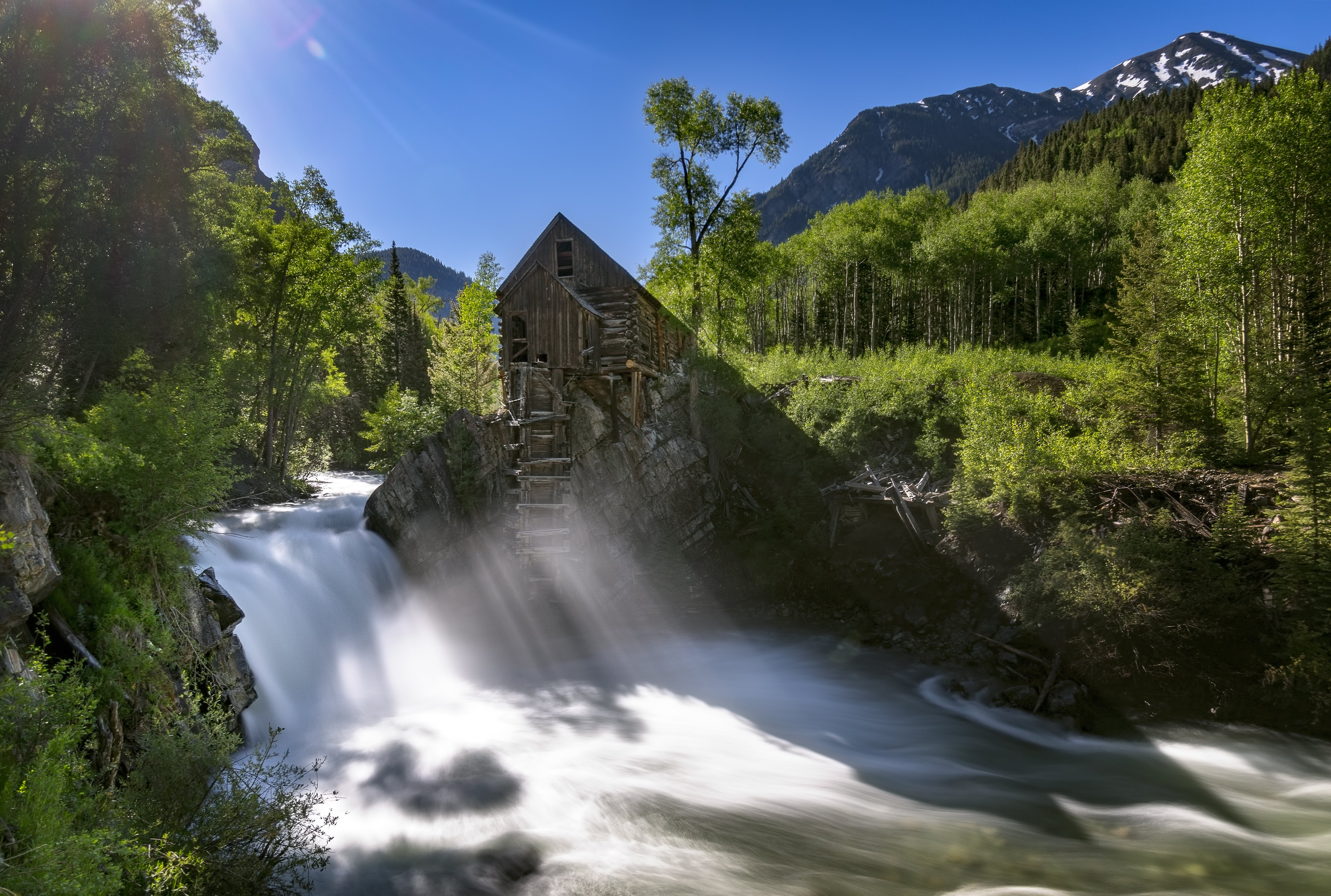 Crystal Mill photographed by Kevin Wenning for Intentionally Lost cycling tour and photography workshop #intentionallylost