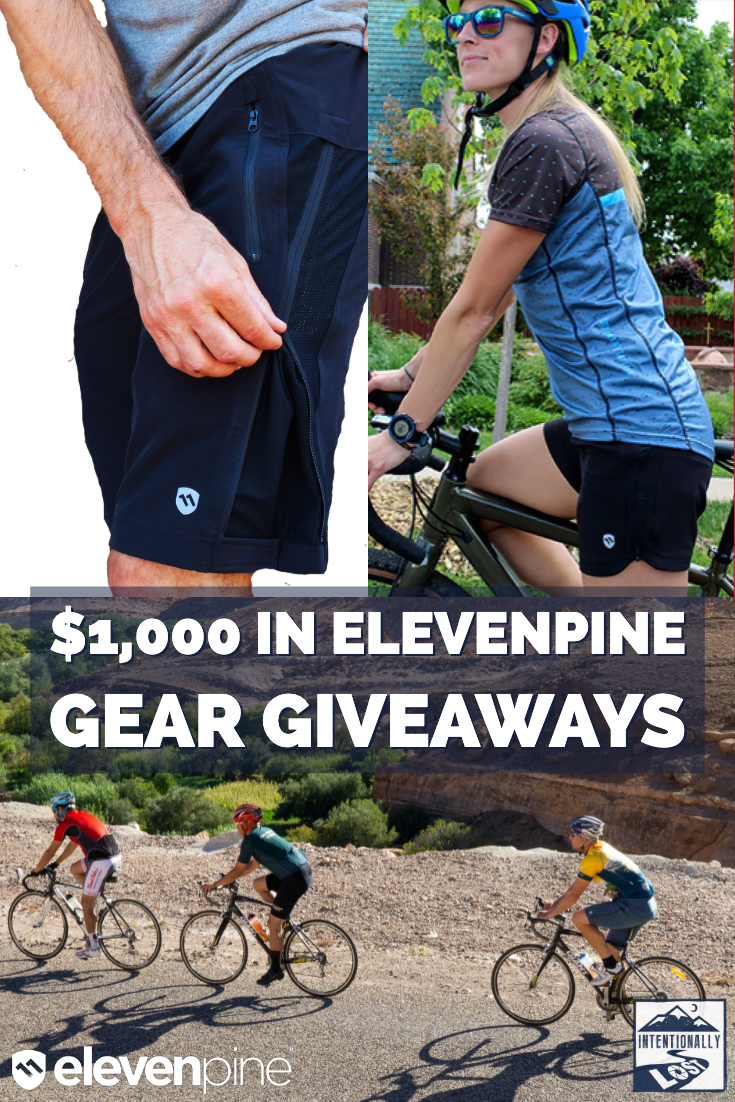 Elevenpine is my choice of cycling shorts for multi day bike tours. I partnered with them to give away free stuff you can use on your next cycling vacation.