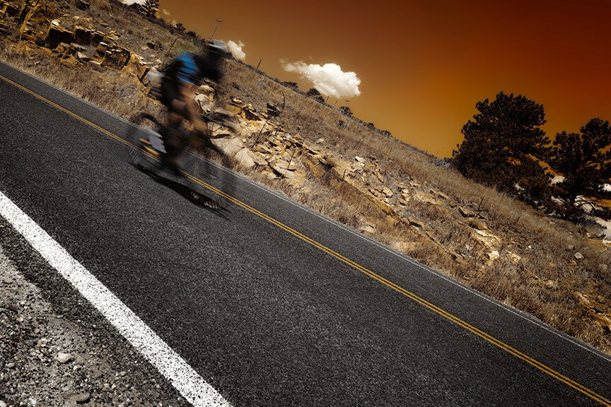 Artistic cycling photography from Kevin Wenning and Intentionally Lost