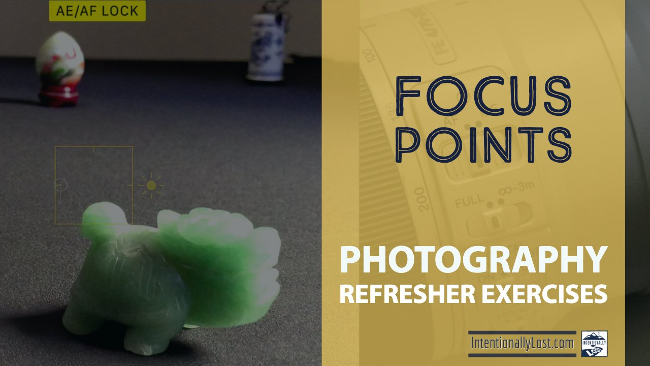 photography exercises to practice auto focus and manual focus #intentionallylost