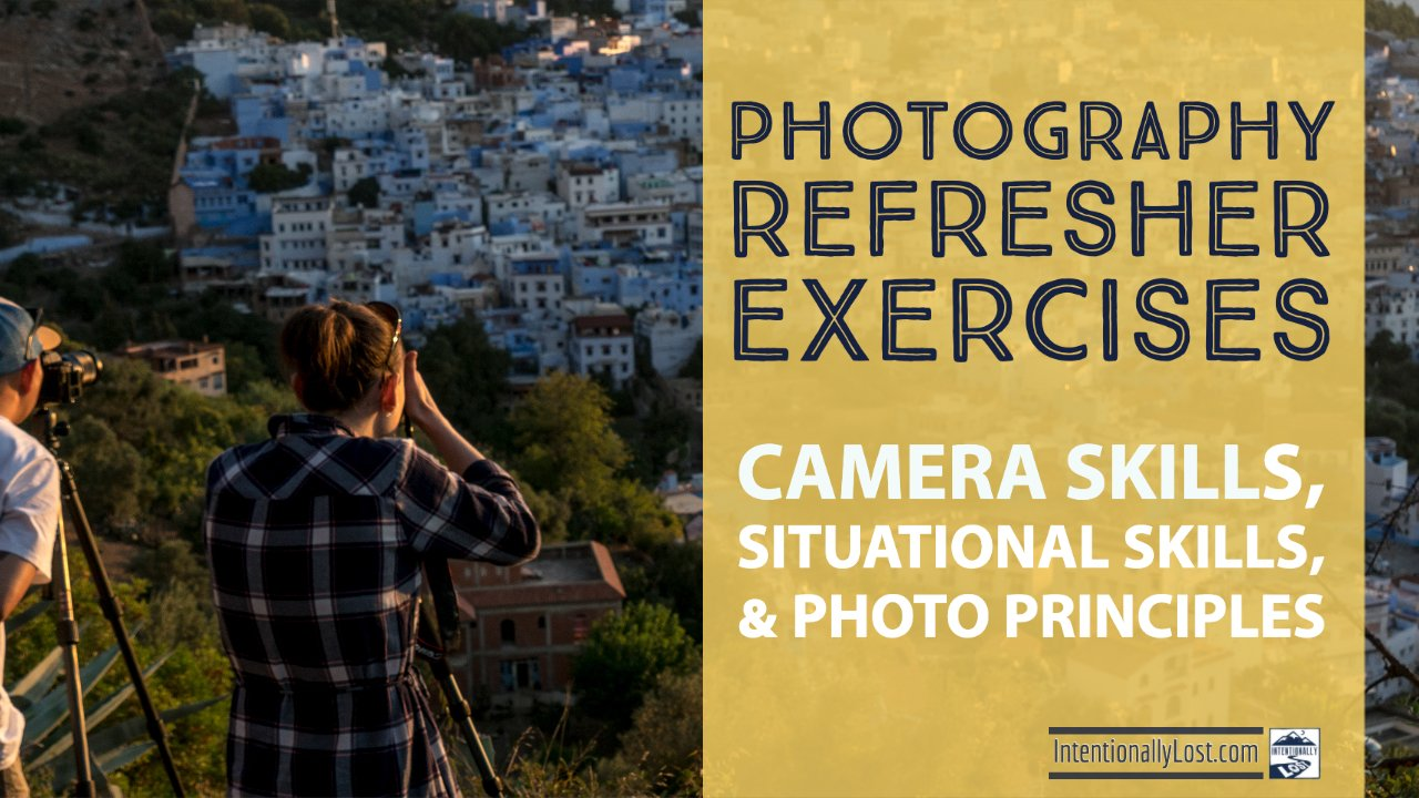 Learn Photography - camera skills, situational skills, photo principles