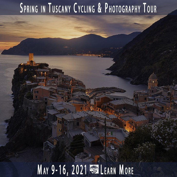 Cycling Tour and Photography workshop in Tuscany Italy with Kevin Wenning #intentionallylost