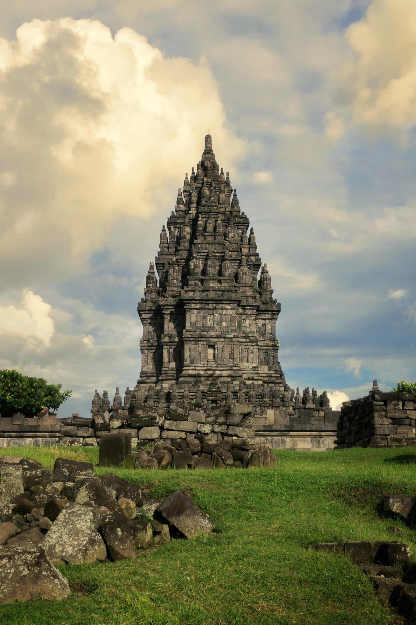 Restored Prambanan Temples #intentionallylost