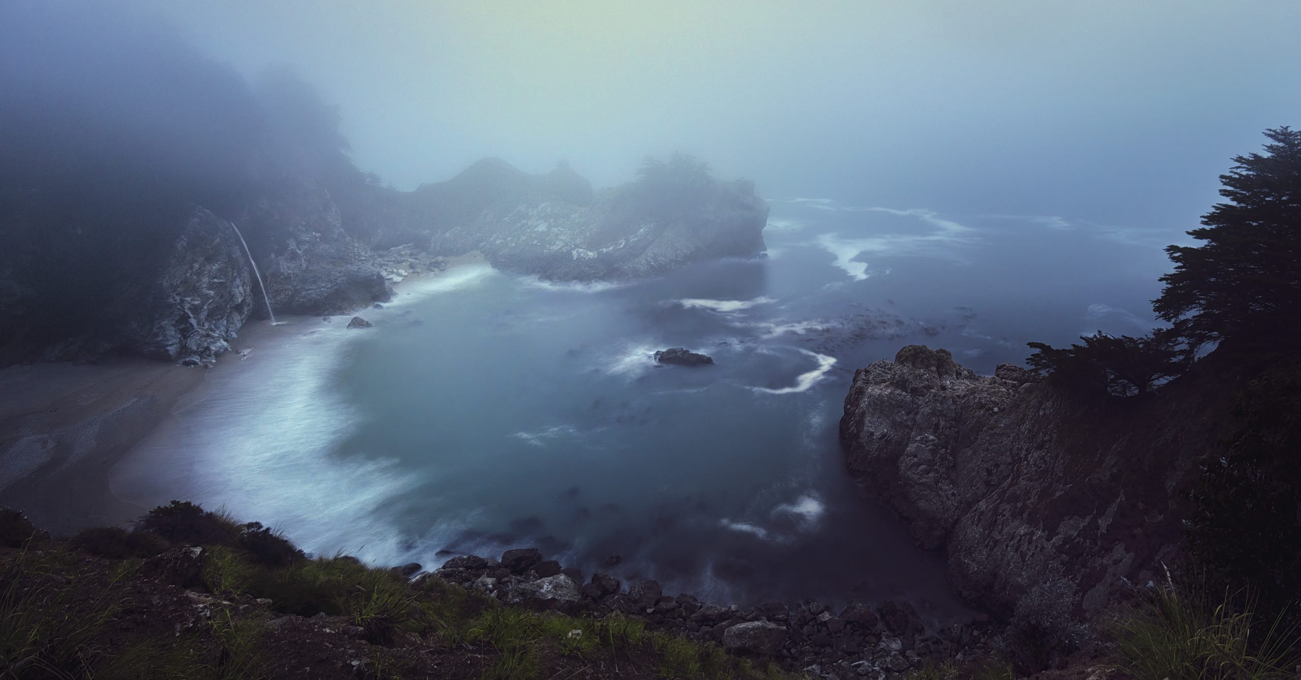 McWay Falls in the fog #intentionallylost