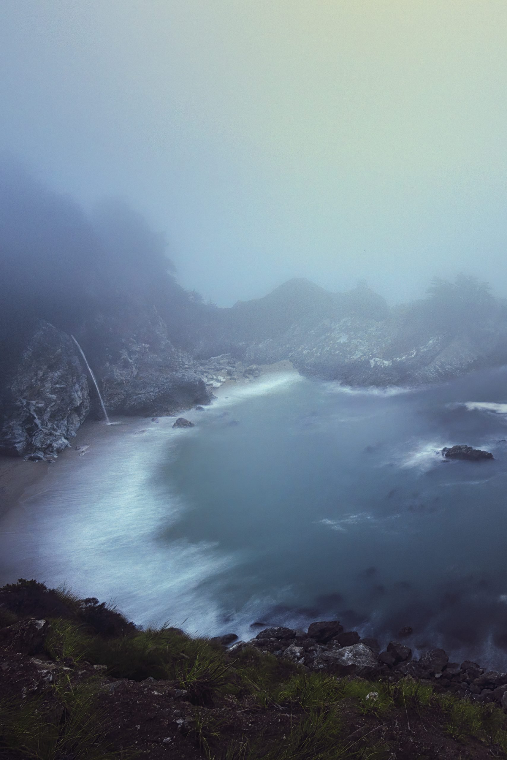 McWay Falls in the Fog
